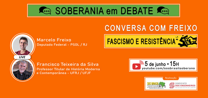 05/06 – Marcelo Freixo debate a resistência